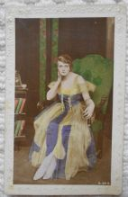 Miss Gladys Cooper, Vintage Postcard, Actress, starred in Rebecca, 1917